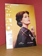 OPERA International N° 82/1985 June Anderson Meyerbeer Julie Dorus-Gras, Tippett