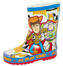 Kids Disney Toy Story Rubber Wellington Boots Buzz Woody Snow Rain Boots Wellies