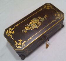 "Reuge Music Box 3.72 Note Movement Box - J.S.Bach ""Rondeoulu"",&#0 34;Polonaise"",""M inu"