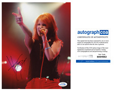 Hayley Williams Paramore Signed Autographed Concert 8x10 Photo ACOA