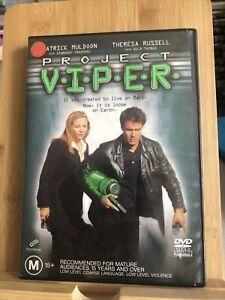 Project V.I.P.E.R. (DVD 2002) Region 4 Ex-rental Rare