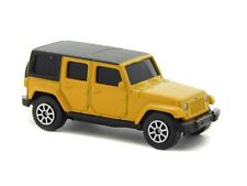 2015 Jeep Wrangler Rubicon Unlimited, Yellow, Maisto 1:64 11805 3 inch Toy Car
