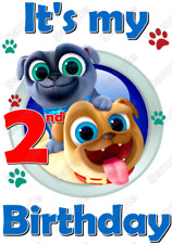 Puppy Dog Pals  Birthday  Personalized  T Shirt Iron on Transfer #1