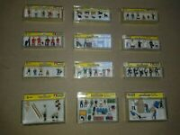 HO OO Gauge NOCH Figures People men women animals Scenery choose 1 from various