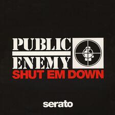 "Public Enemy x Serato-Shut Em Down PICTURE DISC (2x12"" - 2013-US-original)"