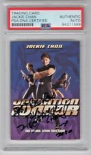 Jackie Chan Martial Arts Operation Condor Signed Auto Trading Card  PSA/DNA