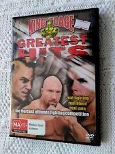 King Of The Cage - Greatest Hits (DVD, 2006) R-4, LIKE NEW, FREE POST AU-WIDE