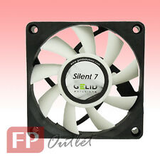 GELID SILENT 7 cm 70mm Low Noise Silence Durable PC Case Fan w/Screw FN-SX07-22