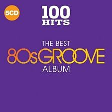 100 Hits The Best 80s Groove Album 5 CD Set