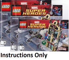 New Instructions Only Lego Spider-Man Daily Bugle Showdown 76005 books from set
