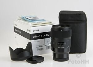 SIGMA 35MM F/1.4 DG HSM ART LENS WITH L-MOUNT // LEICA SL MOUNT // GREAT PRICE