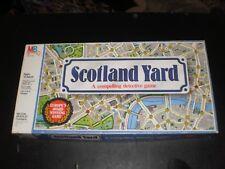 SCOTLAND YARD MILTON BRADLEY 1985 CONTENTS ARE  CLEAN!