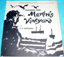 E. G. Huntington - Folksongs from Martha's Vineyard Booklet ONLY