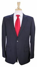 * HUGO BOSS * Recent Red Label Gray Shadow Tone Striped 2-Btn Wool Suit 40R