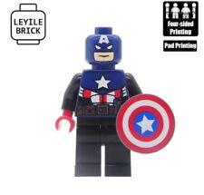 **NEW**LEYILE BRICK Custom Captain America Lego Minifigure