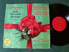 FIRESTONE ORCHESTRA & CHORUS: Christmas favorites vol III - 1964 LP FTP MLP 7008