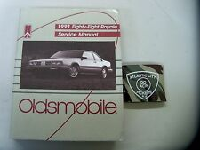 1991 OLDSMOBILE EIGHTY EIGHT ROYALE SERVICE SHOP REPAIR MANUAL