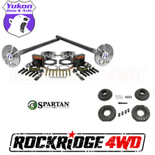 Yukon Ford 8.8 C-Clip Eliminator Axle Kit 4340 & SPARTAN LOCKER Jeep YJ XJ TJ