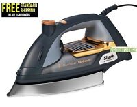 "Shark GI505 Ultimate Professional Iron 9.5"" Soleplate 1800w Self-Cleaning Steam"