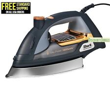 """Shark GI505 Ultimate Professional Iron 9.5"""" Soleplate 1800w Self-Cleaning Steam"""