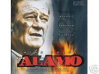 NEW CD! THE ALAMO MUSICAL TRIBUTE TO JOHN WAYNE'S FILM!