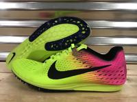 Men's Nike Zoom Matumbo 3 OC Volt Track Spikes Shoes Volt Pink SZ 7.5 882014-999