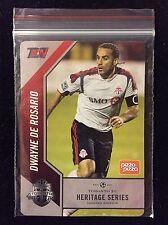 2016 MLS TORONTO FC DWAYNE DE ROSARIO HERITAGE SERIES SOCCER CARD TFC SGA