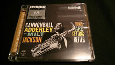 CANNONBALL ADDERLEY WITH MILT JACKSON Things Are Getting Better *SACD*NM* (12)
