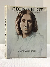 GEORGE ELIOT and Her World By Marghanita Laski, Biography, Literature, 1973