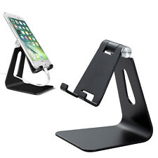Phone Tablet Desk Stand Aluminum Table Holder Cradle Dock for iPhone 11 iPad