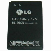 OEM 3.7V Li-Ion OEM Battery BL-46CN, 900mAh, 3.3 Wh FOR LG A340 AT&T Cell phone