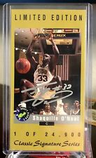 New listing 1992-93 Classic Signature Series Autograph Auto Shaquille Shaq O'Neal Rookie RC