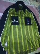 Maglia Arbitro FIGC DIADORA Colore Oro/nera Stagione 2001-02 Taglia M OTTIMA