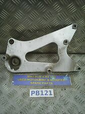 sym symphony sr 125 exhaust and wheel bracket