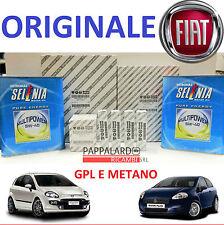 KIT TAGLIANDO + OLIO SELENIA GAS + CANDELE FIAT GRANDE PUNTO EVO 1.4 METANO GPL