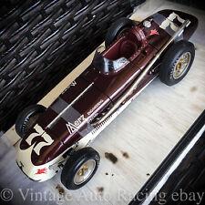 Vintage 1954 Indy 500 Carousel 1 18 Kurtis Kraft Merz Engineering Agabashian