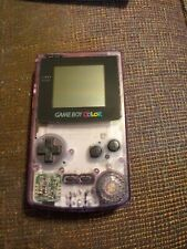 Atomic Purple Gameboy Color no back cover
