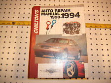 Chilton's 1990-1994 Some GM / Ford/ Chrysler LARGE  Auto Repair 1 manual ,7912,