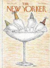 COVER ONLY New Yorker magazine ~ December 31 1979 ~ KOREN ~ Martini glass