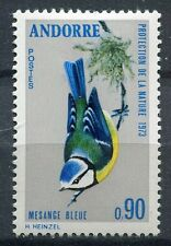 TIMBRE ANDORRE FRANCE NEUF  N° 232  **  MESANGE BLEUE