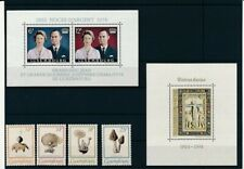 D074349 2 Values S/S MNH Luxembourg + Stamps