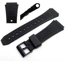 Correa de Reloj 19mm para adaptarse a Casio banco de datos DB30, DB31, DB55, DBW101, DBA80, AB11