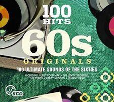 100 Hits 60s Originals 5 CD Album FT Fleetwood Mac Johnny Cash Marty Robins