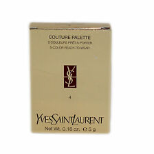 YSL COUTURE PALETTE 5-COLOR READY-TO-WEAR 0.18 OZ/5 G #4 NIB-74242