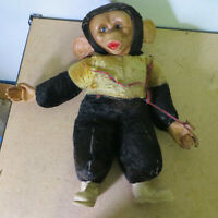 Vintage Mr. BIM Plush Rubber Face Monkey/Chimpanzee Howdy Doody Show Zip / Zippy