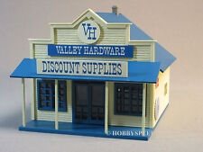MTH LIGHTED VALLEY HARDWARE STORE O GAUGE train building tools rural 30-90299