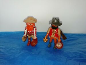 PLAYMOBIL -  2 GOLD PROSPECTORS WITH ACCESSORIES