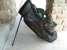 TaylorMade Lightweight Golf Stand Bag Dual Strap Bubble Blue & Black Vintage