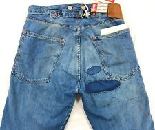 Levis Vintage Clothing LVC 1915 501 XX Selvedge Jeans Mens Size 26 Destroyed