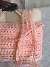 Ajuste del cordón rosa vintage 5 años Ballet Muñecas Mobiliario Vintage Boda nos